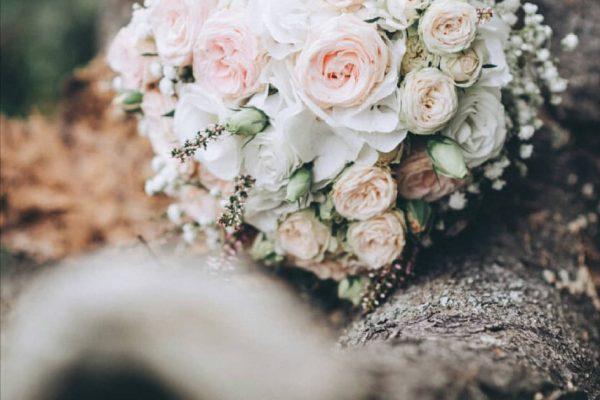adell decor - detail svadobnej kytice