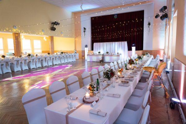 Adell Decor - dekorácia svadobnej sály