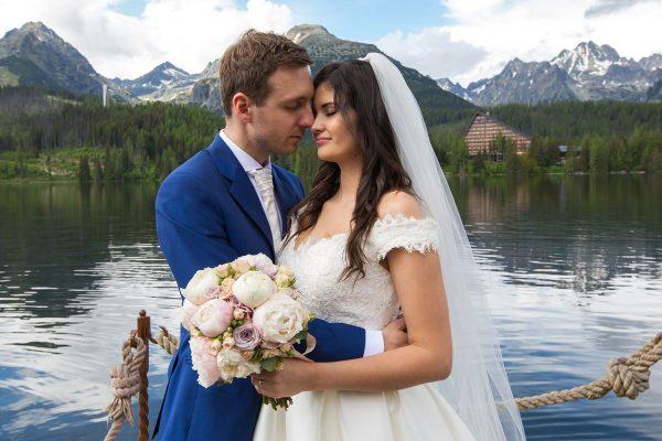 svadobný pár v tatrách