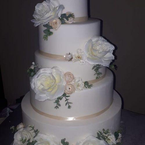svadobná torta príprava