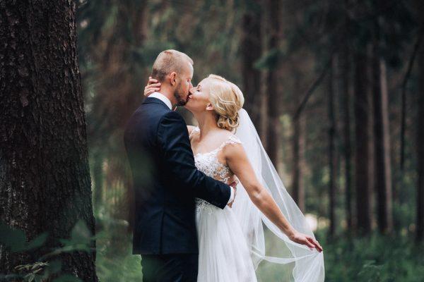 vlado ivan photo - svadobný pár v lese