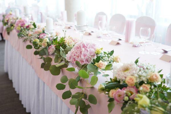 Hotel Turiec**** - Svadobná hostina - detail na stôl