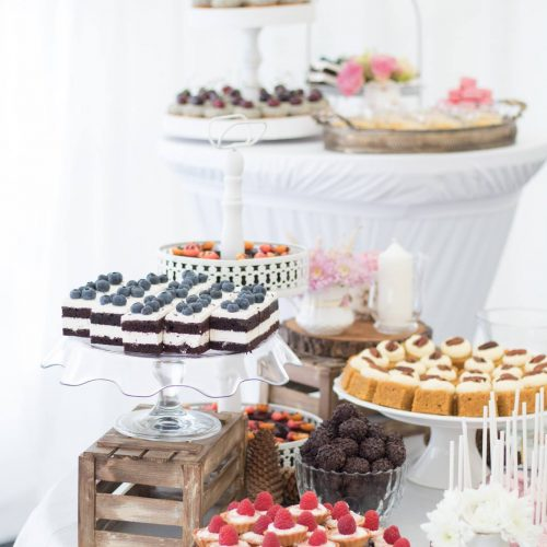 Svadobné koláče Sisters Cake - stôl 3