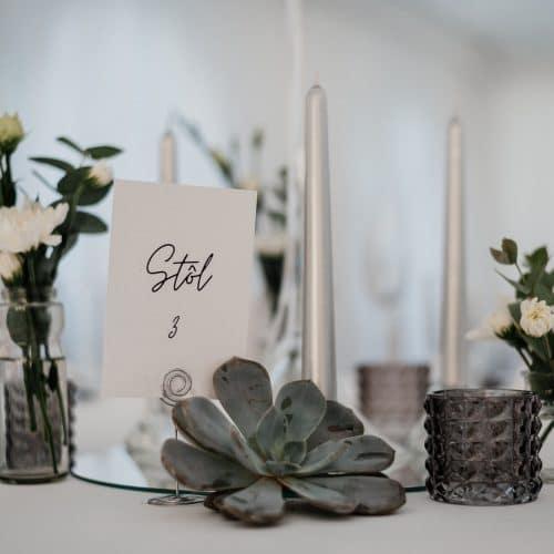 Hotel Gader - Svadobný stan - Svadobná hostina - detail na stôl 3