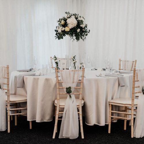 Hotel Gader - Svadobný stan - Svadobná hostina - ozdobený stôl
