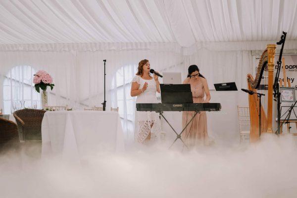 Múzy tvorivé - Umelecké zoskupenie ponúkajúce spev, hru na klavír, harfu a organ - v dyme