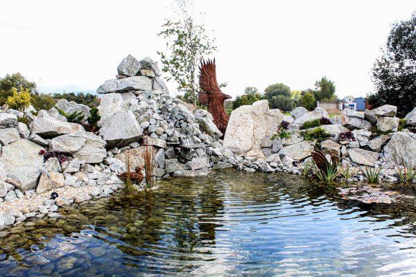 Penzión San Martin - Svadobná sála v Martine - záhradné jazierko